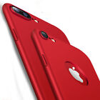 Luxury 360 Full Protection Hard PC Silicone Bag Case Cover for iPhone 7 6s Plus