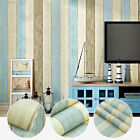 Timber Plank Wood Panel Stripes Wallpaper Rolls Wall Backround Bedroom Decor 10M