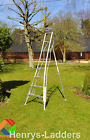 Henchman Platform Tripod Ladder (3 Leg Fully Adj) 6'  FREE & FAST DEL AVAILABLE