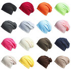 1 Piece New Fashion Multicolor Women Mens Knitted Oversized Beanies Hat Cap