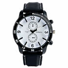 Cool 3D Dial Display Military Army Silicone Strap Business Wrist Watch BangleWristwatches - 31387