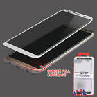Tempered Glass Screen Protector Guard FULL COVERAGE For Samsung Galaxy S8 / Plus