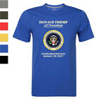 2017 January 20 Presidential Inauguration Day Tshirt 45th President Donald Trump