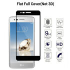 9H Flat Full Cover Tempered Glass Screen Protector For LG LV3 /Stylo 3/Stylo 2