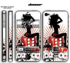 247 Skin iPhone 4 Dancer Phone Wrap Decal Sticker Wrap