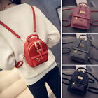 Women's Faux Leather Convertible Small Mini Backpack Rucksack Cute bag Purse-Y