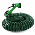 10 m and 30M 100 ft Coil Retractable Garden Hose Pipe With Spray Gun 30 metre