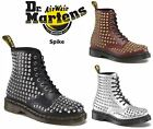 Dr Martens Unisex 1460 Classic Smooth Leather + Spike Applique Ankle Boots