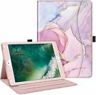 For New iPad 2017 / Air 2 / Air Case Multi-Angle Folio Stand Cover w/ Pocket