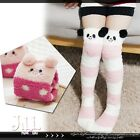 lolita fairytale Marble Zoo wonderland knee high Kids' fleece bed socks【J3C036】