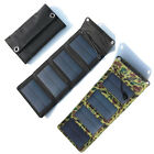 7W 5.5V Outdoor Portable Solar Panel Power Battery Charger Pack For Mobile Phone