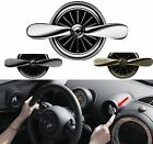Car Air Vent Air Freshener Air Cleaner Perfume Scent Diffuser 2 Propellers Fan