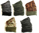 GENTS MICROFIBRE & FLEECE HEADOVER hat cover gator scarf tube beanie neck snood