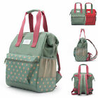 Water Resistant Baby Diaper Bag Backpack Changing Bag Nappy Travel Bag Small