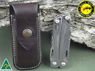 Vertical Leather Pouch To Suit Leatherman Sidekick Multi tool