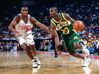 Gary Payton Seattle SuperSonics Retro Huge Giant Print POSTER Affiche on eBay