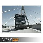 VOLVO TRUCK (AC013) POSTER - Photo Picture Poster Print Art A0 A1 A2 A3 A4