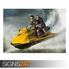 YAMAHA WAVERUNNERS VXR (AC032) POSTER - Photo Picture Poster Print Art A0 to A4