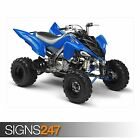 YAMAHA RAPTOR 700R BLUE (AC039) ATV POSTER - Photo Poster Print Art * All Sizes