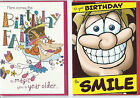 Various Humour, Funny, Rude Birthday Cards
