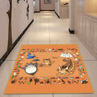 Totoro Cute Square Anime Velboa Floor Rug Carpet Room Doormat Non-slip Mat #17