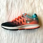 Bling Nike Air Zoom Pegasus 33 Shoes w/ Swarovski Crystal * Black Pink Blue
