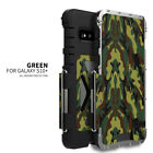 For Samsung Galaxy S10 Armor King Stainless Steel Iron Man Flip Metal Case Cover