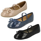 WHOLESALE Girls Flat Ballerina Shoes / Sizes 6x13 / 16 Pairs / H2429