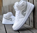 Fashion  Mens High top Sneakers Ankle Boots Hip Hop Leisure Casual Fashion Men