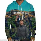 NWT Beloved NORTH KOREA KIM JUNG UN HOODIE SMALL-3XLARGE HAND MADE IN THE USA