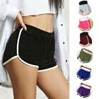 New Cotton Pants Women's Sports Shorts Gym Workout Waistband Skinny Yoga Short