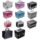 Aluminum Beauty Box Cosmetic Makeup Jewellery Saloon Case Storage Bag