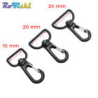 Plastic Swivel Snap Hooks for Bag Belts Straps Keychain Clasp Webbing