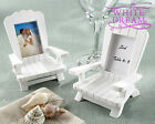 Beach Theme Chair Photo Frames | Place Card Holders | Wedding Favours Adirondack