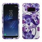 Cases Covers Skins - Samsung GALAXY S8 PLUS Impact TUFF HYBRID Armor Rubber Rugged Case Phone Cover