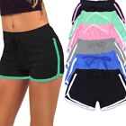 Women Yoga Running Sport Short Pants Elastic Waist Summer Beach Hot Pants Shorts