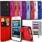 Huawei Honor Holly 3 - Flip Wallet Book Case & Retractable Stylus