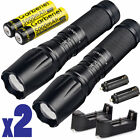 12000LM Police Tactical XM-L T6 LED 5 Modes 18650 Flashlight Zoomable Lamp Light