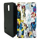 DC Marvel comic book strips Flip Wallet cover case for Samsung Galaxy No.3