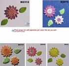 FLOWERS 3D  -  HANDMADE CLAY CERAMIC MOSAIC TILES ( Pick you Tile) #9