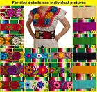 Handmade Mexican Embroidered Sash from Chiapas
