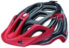 KED Fahrradhelm Trailon black red matt,  Gr. L 56-62, NEU