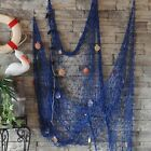 Outdoor Nautical Fishing Net Seaside Home Wall Beach Party Sea Shell Decor US