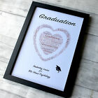 Graduation Gift Frame Photo Son Daughter Class Print Present Year University