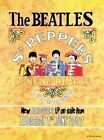 THE BEATLES SERGEANT PEPPER - LENNON & McCARTNEY METAL WALL SIGN TIN PLAQUE 1072
