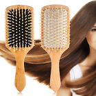 Wood Paddle Brush Wooden Hair Care Spa Massage Comb Anti-static Beauty Comb