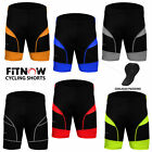 Mens Quality Cycle Cycling Shorts Bicycle Coolmax® Anti-Bac Padding Skin Tight