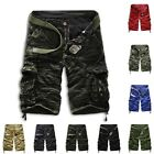 Mens Military Army Combat Trousers Tactical Camo Pants Cargo Shorts Fantastic US