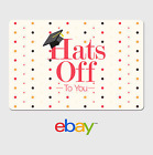 eBay Digital Gift Card - Graduation Polka Dots -  Fast Email Delivery