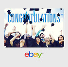 eBay Digital Gift Card - Graduation Cap and Gown - Email Delivery